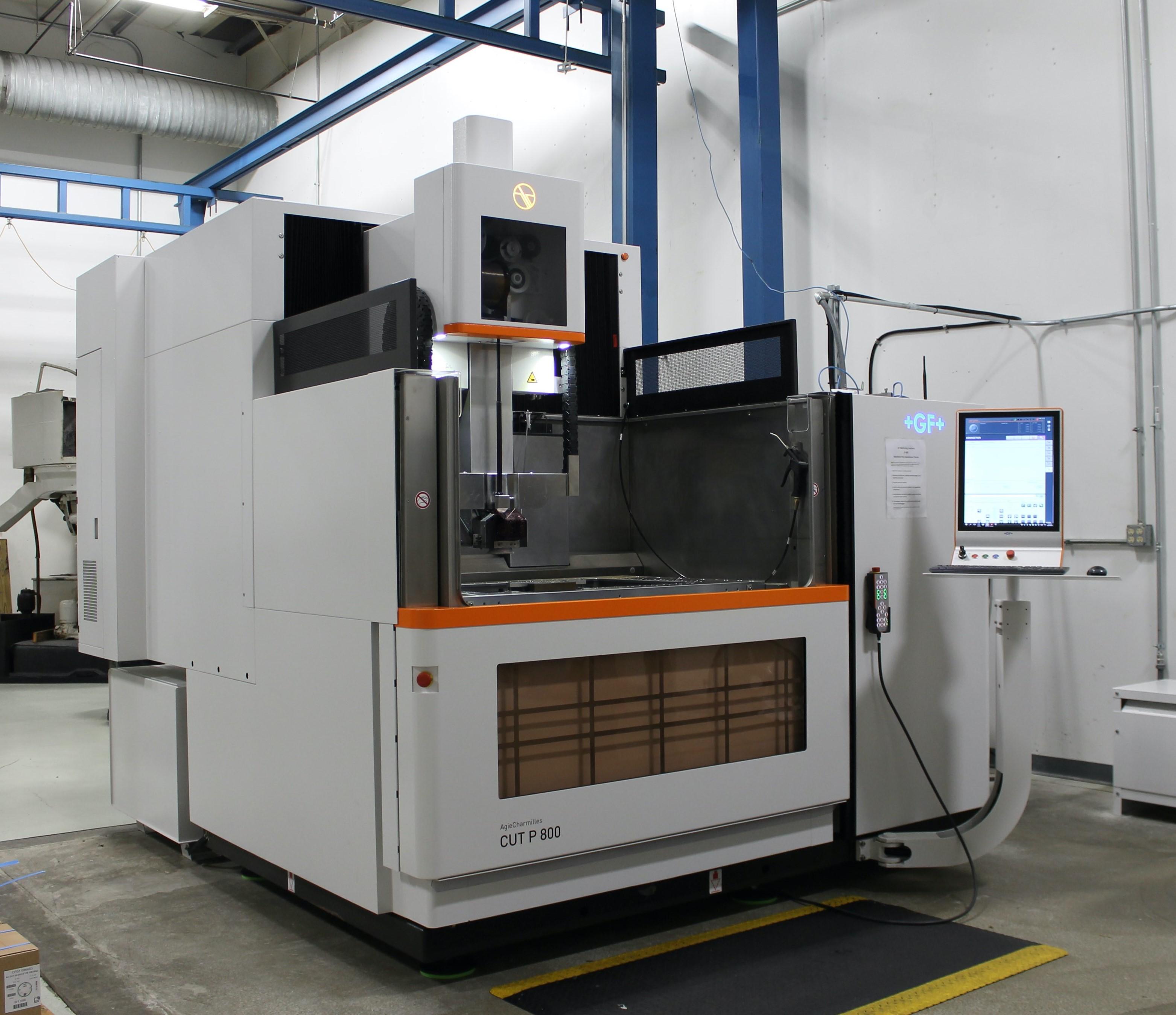 Image for EDM Machine Addition to Rhinestahl Manufacturing - EDM