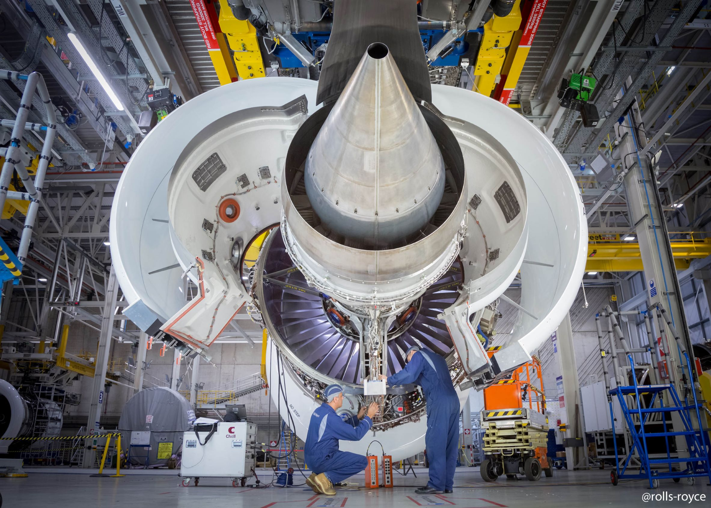 Image for Rhinestahl CTS Selected by Azul Brazilian Airlines as its Rolls-Royce Tooling Provider - trent-7000-first-engine-ready-to-run_36863929483_o