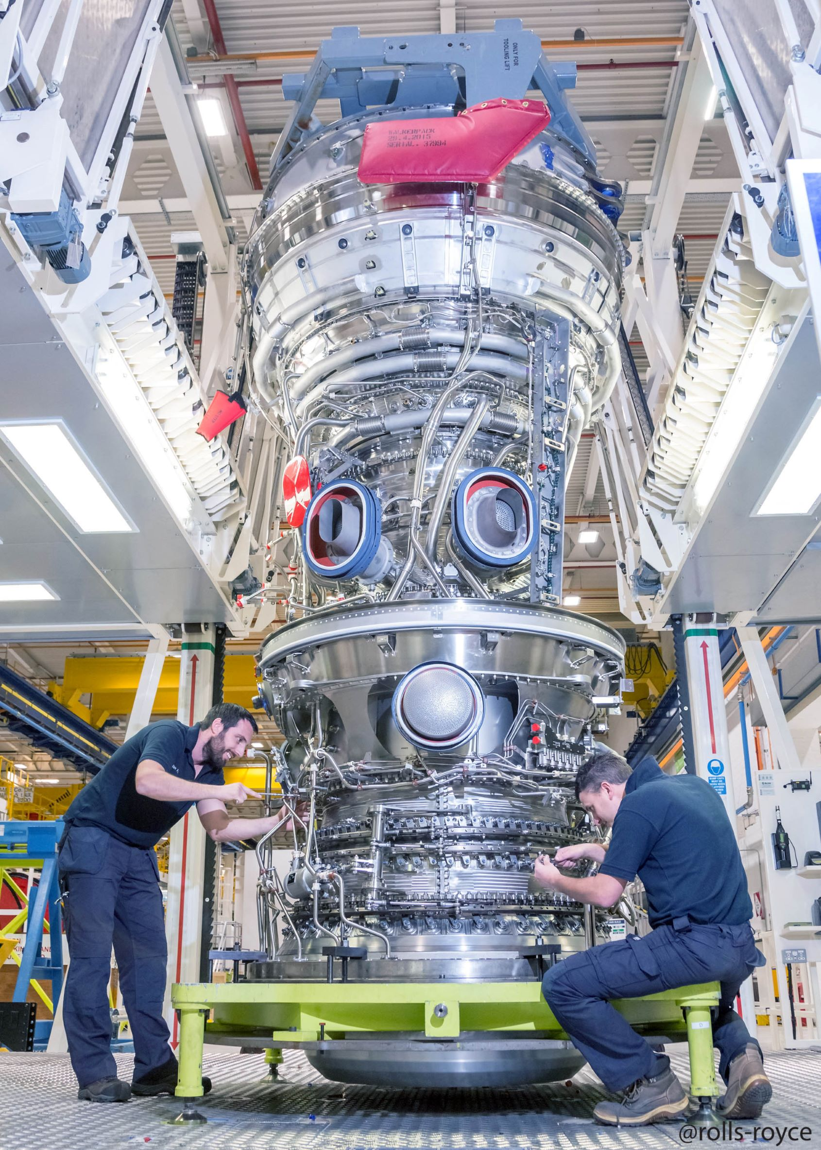 Image for Rhinestahl CTS Selected as the Rolls-Royce Tooling Provider for Iberia Airlines - trent-xwb-100th-engine_24435579254_o